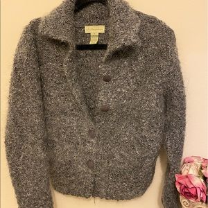 Anthropologie Mohair Sweater